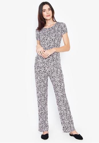 294f5807 Short Sleeve Animal Print Pyjama Set
