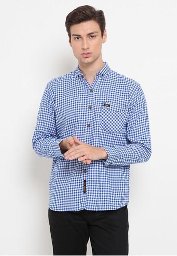 Waymaker blue Waymaker Male Shirt MS WM 139 Blue 4550AAAFFBAFBEGS_1
