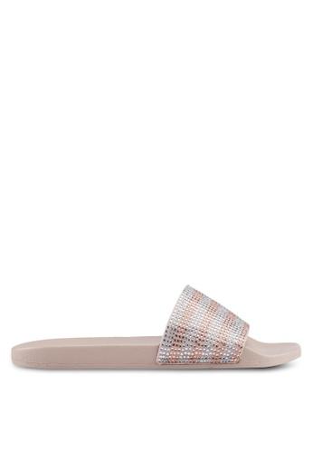 ALDO silver Gloari Beach Sandals 4025BSH35A0C5EGS_1