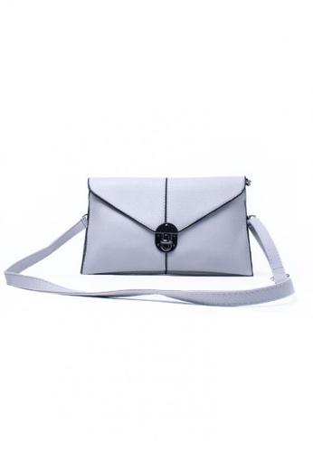 Vince black and grey Korean Design Sling Bag VI456AC96SWTMY_1