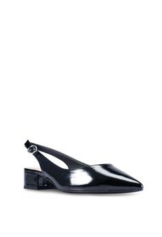 c3cfbc855210 Dorothy Perkins Black PU  Daphne  Block Heels Slingback Court Shoes RM  159.00. Sizes 5 6 7