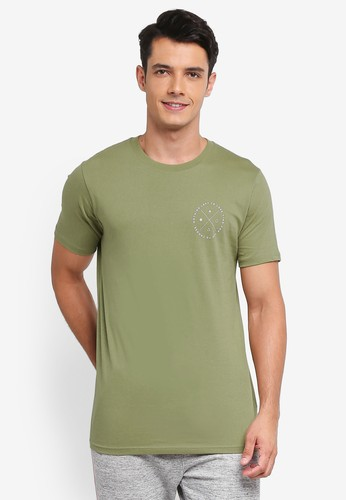 Factorie green Tagged Tee 8487BAAD0C5A15GS_1