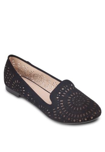 MISTY 鐳射雕花平底鞋, 女鞋zalora 包包 ptt, 鞋
