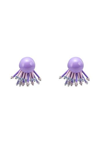 kate spade new york purple Statement Stud Earrings 30FEBACEC98C68GS_1
