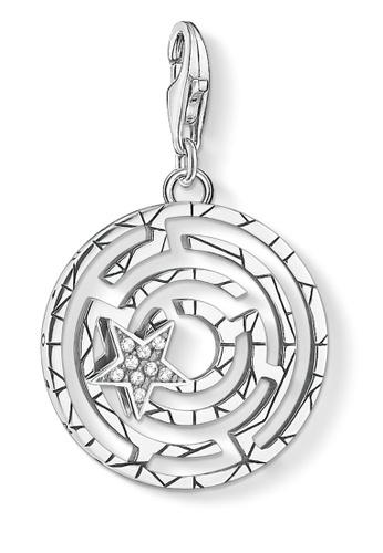 THOMAS SABO silver Charm Pendant Maze 84523AC189160BGS_1