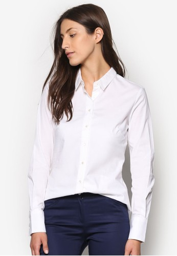 棉質長袖襯衫, 服飾zalora taiwan 時尚購物網鞋子, 上衣