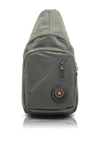 Attraxion Men's and Accessories green Attraxion Aaron - 0125 Sling Crossbody Bag for Men 2D321AC5FD4C25GS_1