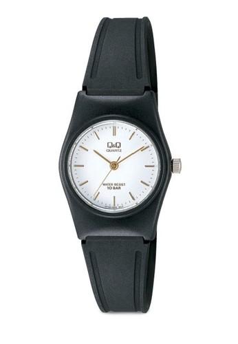 Q&Q VP35J005 數字細帶休閒手錶, 錶zalora鞋子評價類, 其它錶帶