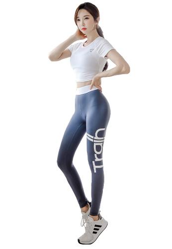 YG Fitness multi (3PCS) Sports Fitness Yoga Set (Sports Bra+Pants+Short T) 7C29BUS4E57876GS_1