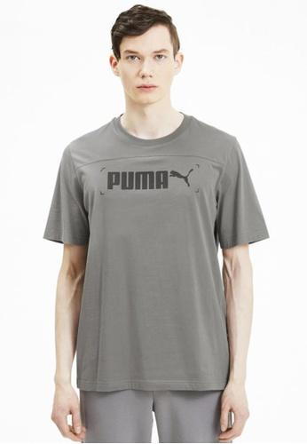 Puma grey NU-TILITY Graphic Men's Tee 56EF4AA0E7735BGS_1