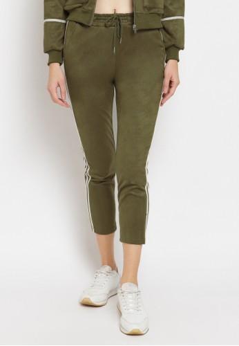 Just Out green Brooklyn Pants 48B1DAA578D79EGS_1