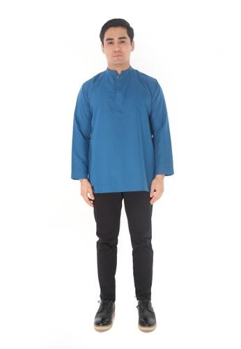 Amar Amran blue Kurta Al Idrus 2.0 5CE5DAAF536DC7GS_1