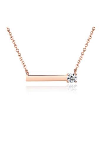 SUNRAIS gold Premium Silver S925 Gold Fashion Necklace 7D466ACE8913D5GS_1