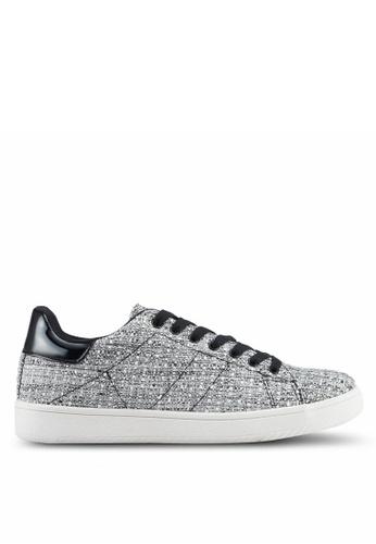 Rubi grey Cathryn Knit Sneakers 3801CSHB6E0183GS_1