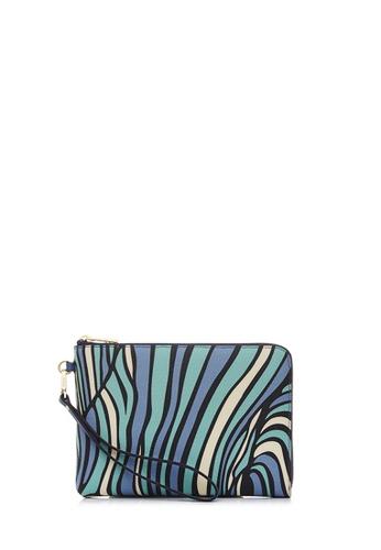 BONIA Blue Sabbia Mini iPad Pouch E68BCAC555B89DGS_1