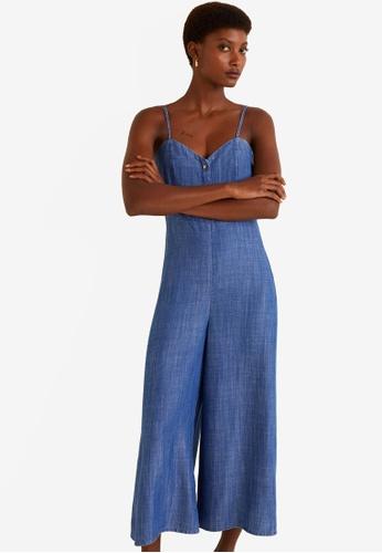 2df217dcd62 Buy Mango Long Soft Jumpsuit Online on ZALORA Singapore