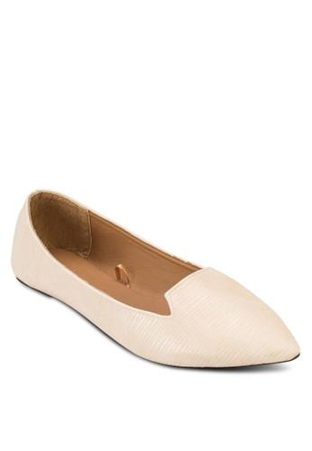 Delta esprit china尖頭平底鞋, 女鞋, 印花時代
