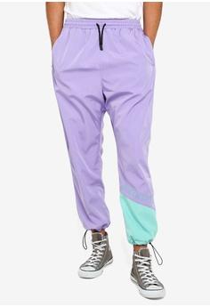 3cdb6819f Just Hype purple Hype Stitching Sport Pants A119EAA07BB615GS_1