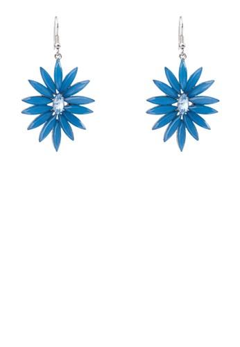 花形垂掛耳環, 飾品配件,zalora 心得 飾品配件