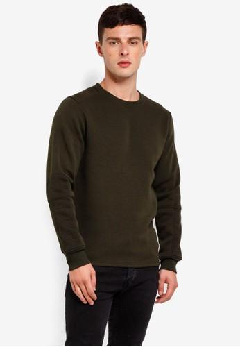 Jack & Jones green Object Sweatshirt AC520AA590AD67GS_1