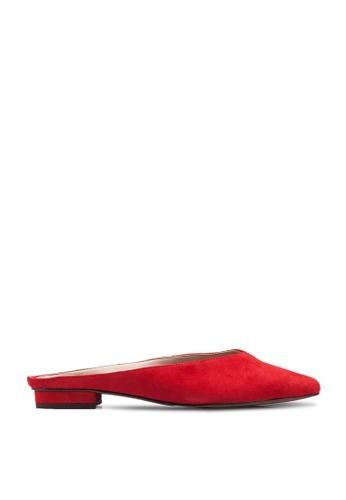 Banana Republic red Easy Mule Flats 42514SHC8FC1D5GS_1