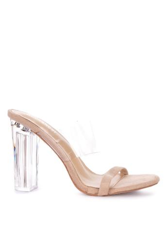 1fec86ac0e6 Shop Rock Rose Perspex Block Heel Sandals Online on ZALORA Philippines