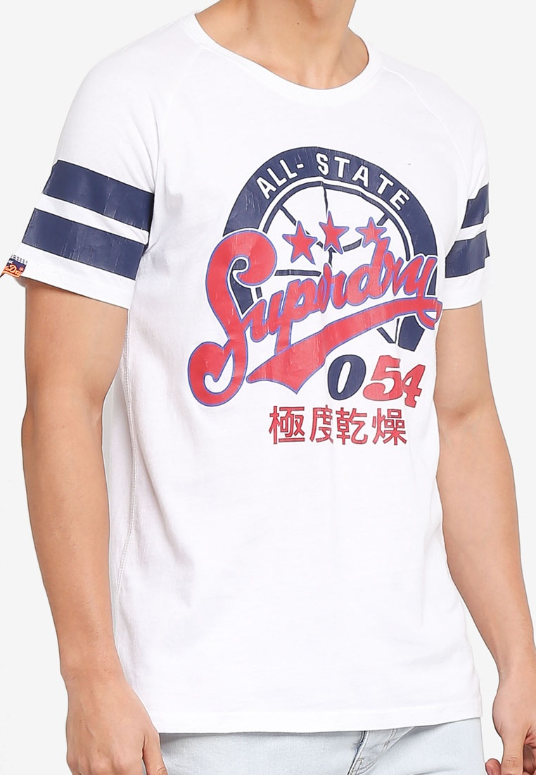 Optic Superdry League Major 054 Tee OTwIxPH