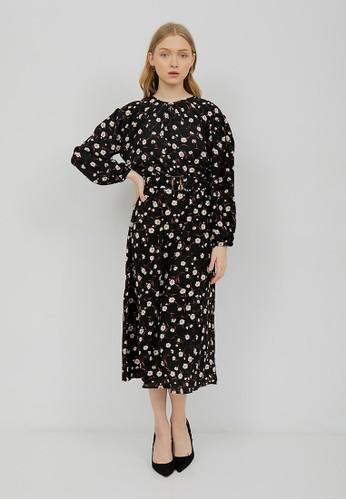 Shiny black Shiny Lisa dress 54-5213-black 7C9D2AA52C5E11GS_1