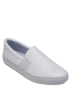 Slip-Ons Plimsolls With Elastic Strap