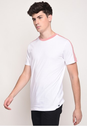 Skelly white Skelly Studio Tee Ever Pink Shell 457BBAA0001870GS_1