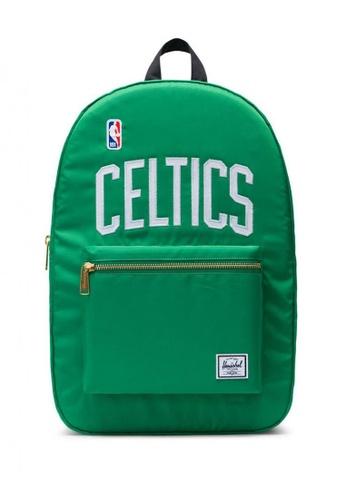 Herschel green Settlement NBA Champions Boston Celtics Backpack BE785ACB72D7A6GS_1