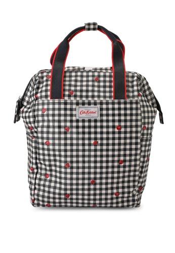 Cath Kidston grey Ladybug Gingham Backpack Nappy Bag D6771KC09545BAGS_1