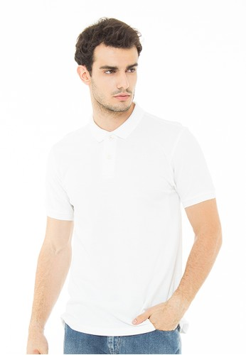 White The Essential Polo Shirt