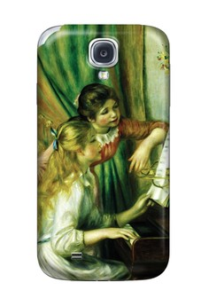 Girls at the Piano Matte Hard Case for Samsung Galaxy S4