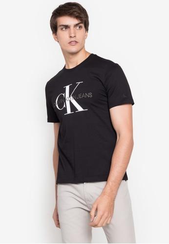 Calvin Klein black Logo T-Shirt F348DAAFD15FA0GS_1