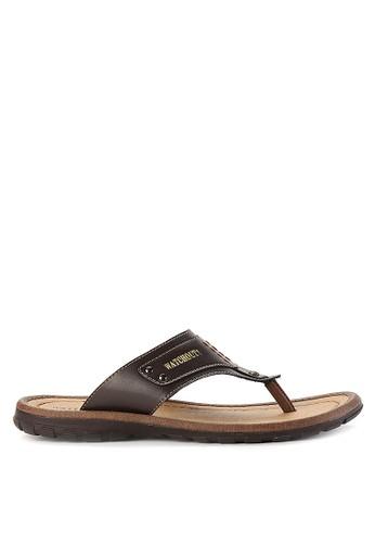 Watchout! Shoes brown Sandals Thongs WA021SH0VXYPID_1