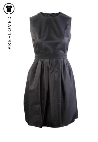Carven black Pre-Loved carven Open Back Dress B6259AA75426D3GS_1