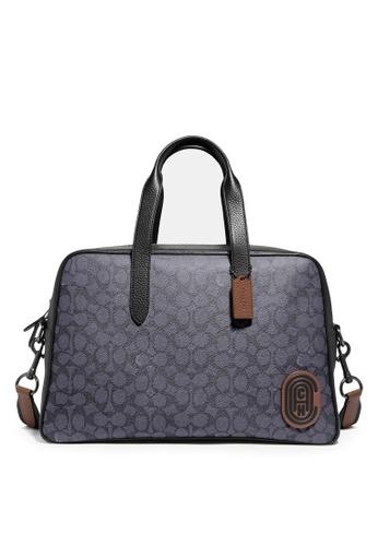 Coach grey Metropolitan Soft Carryall Bag 61965ACB99036AGS_1