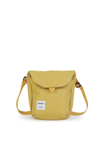 Hellolulu yellow Desi - All Day Sling Bag EB1D3ACA969094GS_1