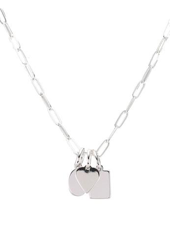 Mango silver Beads Pendant Necklace 03BD3AC0AB45E3GS_1