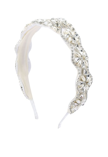 ALDO white Jerumma Headband 24739AC23DF3C7GS_1