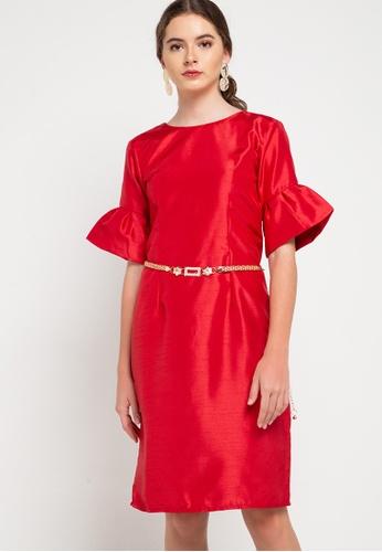 CHANIRA LA PAREZZA red Henrika Dress D394BAA7B43C37GS_1