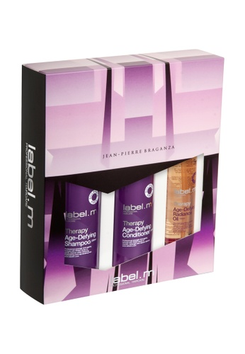 label.m purple Therapy Age-Defying Gift Set LA590BE50FARSG_1