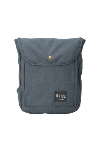 G.ride navy Damien Shoulder Bag D5869ACE5BAD99GS_1