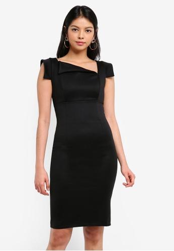 Goddiva black Chic Mad Men Style Dress 0DF90AA4BCBDFDGS_1