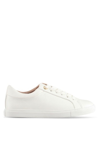 TOPSHOP white Cookie Lace Up Trainers 2593ESHAD2D647GS_1