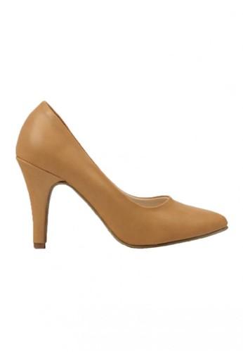 CLAYMORE gold Sepatu High Heels BB-701  Cream CL635SH28LITID_1