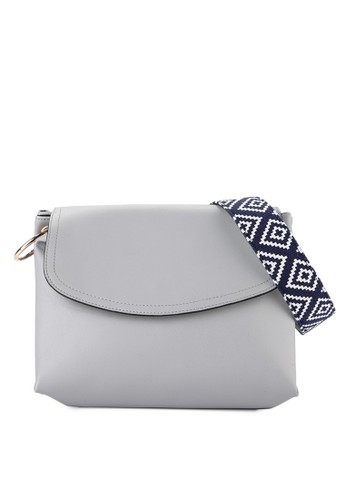 LOLINI multi and grey Alice Tote Bag Double Ring Gry D1858ACA461F25GS_1