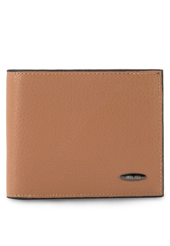 Swiss Polo brown Swiss Polo Wallet SW912AC66OGBMY_1