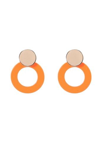 ALDO orange Sevendasa Earrings 87EE8AC382E53DGS_1
